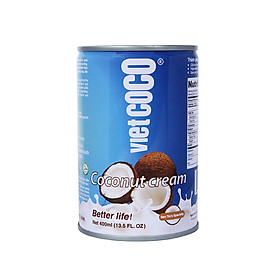 Nước cốt dừa VIETCOCO 400ml - 22%