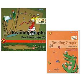 Combo All Story - Reading Graphs - Đọc Hiểu Biểu Đồ (Trình Độ 2 - Tập 10 ) (Bộ 2 Cuốn)