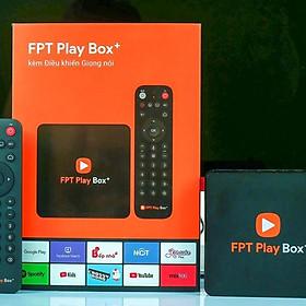 FPT Play Box 2019 Chính Hãng 4K - Remote Voive Search điều khiển bằng giọng nói, Bluetooth, 4K - Tặng chuột wireless FPT - tặng gói giải trí cao cấp 200 kênh truyền hình bản quyền và giải ngoại hạng anh..