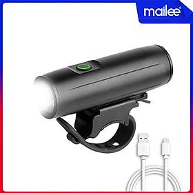 Pha Xe Đạp Mini 400 lumens EOS290 Sạc Điện USB Sáng Mạnh 3 Chế Độ Chống Nước Vỏ Hợp Kim Nhôm (pin 2000mAh) MaiLee
