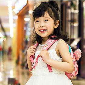 Balo mẫu giáo có cánh thiên thần cho bé trai và gái 3-5 tuổi đáng yêu – B019-2