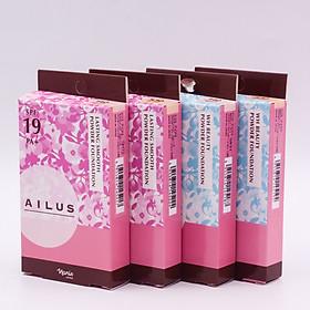 Phấn nền sáng da Naris Ailus WH Beauty Powder Foundation-11