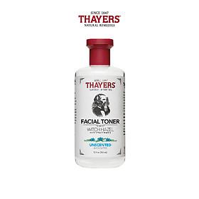 Nước hoa hồng không cồn (Toner) THAYERS - Không mùi 355ml