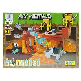 Bộ Xếp Hình - My World - 677 (Li62) - Mẫu 2 (116 Mảnh Ghép)