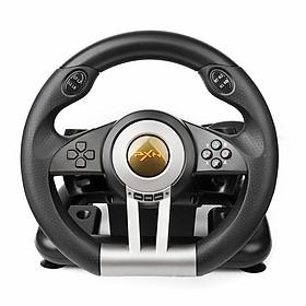Vô lăng chơi game PXN V3II 4 trong 1 sử dụng tay lái cho PS4, PS3, Xbox One, PC - Hàng chính hãng
