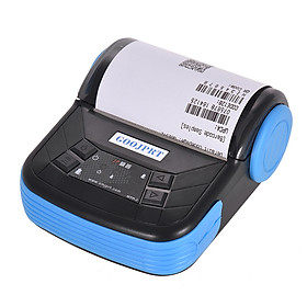 GOOJPRT MTP-3 80mm BT Thermal Printer Portable Lightweight for Supermarket Ticket Receipt Printing