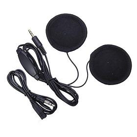 Universal Motorcycle Helmet Headset MP3 GPS Helmet Headset Practical Riding Accessory