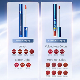 Colorkey Velvet Liquid Lipstick Matte Lip Gloss Glaze Waterproof Long-lasting Makeup —Doraemon Series