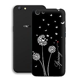 Ốp lưng mẫu đẹp cho điện thoại Oppo A71 - Viền dẻo - 02068 7891 BOCONGANH08 - Hoa Bồ Công Anh - Hàng Chính Hãng