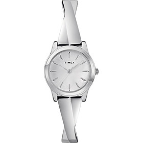 Đồng Hồ Nữ Timex Fashion Stretch Bangle 25mm - TW2R98700 - Silver-Tone