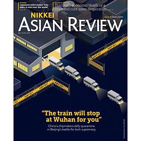 [Download sách] Nikkei Asian Review: The Train Will Stop at Wuhan for You - 12.20, tạp chí nước ngoài, nhập khẩu từ Singapore, Mar 23 - 29, 2020