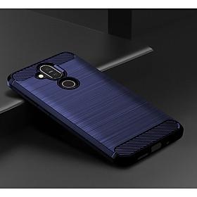 Ốp lưng chống sốc Vân Sợi Carbon cho Nokia 8.1