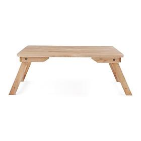 Bàn gấp, bàn xếp chân thang màu tự nhiên 50 x70 cm