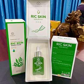Combo Sữa Rửa mặt Ric Skin Wash Foam & Serum Ric Skin Serum HA+