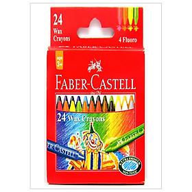 Faber-Castell-120057-Bút Sáp Màu - 24 Màu