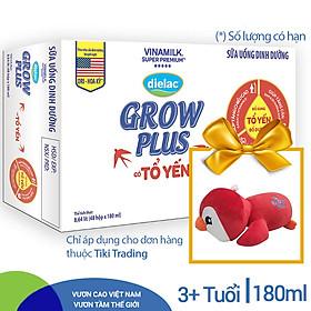 Thùng 48 Hộp sữa bộ pha sẵn Dielac Grow Plus có tổ yến 180ml