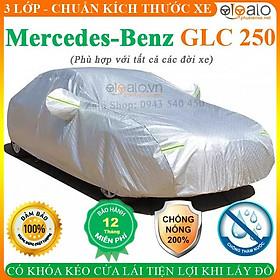 Bạt Phủ Ô Tô Mercedes Benz GLC 250 Cao Cấp 3 Lớp Chống Nắng Nóng Chống Nước Chống xước | OTOALO