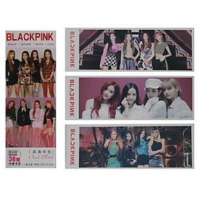 Hộp 36 Bookmark Đánh Dấu Sách Blackpink
