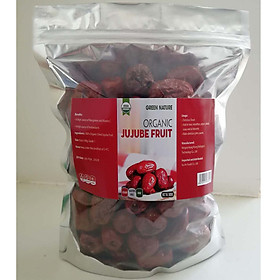 Táo đỏ hữu cơ 500g (Green Nature Organic jujube fruit)