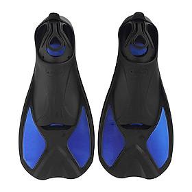 Chân nhái lặn biển chất liệu silicone ôm chân POKI 680 - BLUE