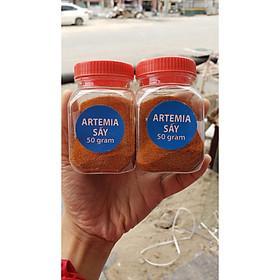 Artemia Sấy Bột Ăn Trực Tiếp (Không Cần Ấp Nở)- Chia nhỏ 50gram
