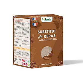 Combo 08 hộp Bữa ăn cân bằng VSanté hỗ trợ giảm cân [ Vị Hạnh Nhân ]