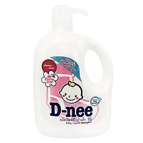 Dung Dịch Giặt Quần Áo Cho Bé D-Nee - Chai 960ml (Hồng)