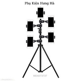 Cây Giá Đỡ Điện thoại Livestream , Quay Tiktok 3 Chân Tripod Cao Từ 65cm Đến 2m