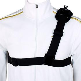 Single Shoulder Strap Mount Chest Harness Belt Adapter for GoPro Hero 1 2 3 3+ 4 Camera CN