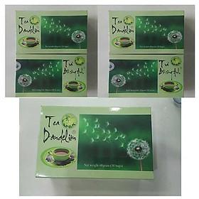 Combo 5 Hộp Trà Bồ Công Anh P&K - mát gan, giải độc, ngừa ung thư (50 túi lọc)