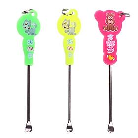 Cartoon Earpick Ear Wax Curette Remover Ear Cleaner Spoon Ear Clean Tool