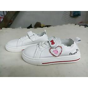 giày thể thao trẻ em hình Peppa