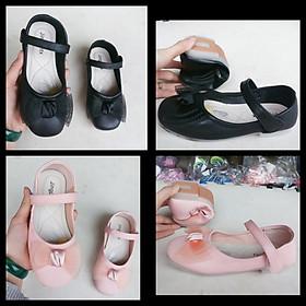 giày búp bê trẻ em nơ lưới