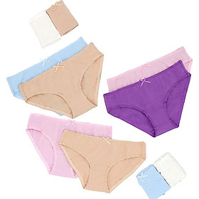 Combo 10 Quần Lót Nữ Love Vera Cotton Bikini VBQB7166 - Màu Ngẫu Nhiên