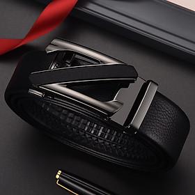 Thắt lưng nam, dây nịt nam khóa tự động dây da cao cấp thiết kế cá tính mẫu NEW năm nay TOPEE TP126