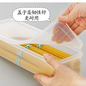Hộp nhựa đựng đũa thìa kèm nắp đậy tiện dụng nội địa Nhật Bản