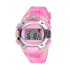 Đồng hồ trẻ em dây nhựa 66269 Newstar 12 (Hồng)