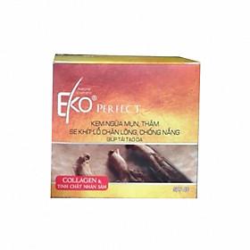 Kem ngừa mụn, thâm, se khít lỗ chân lông,chống nắng, giúp tái tạo EKO PERFECT