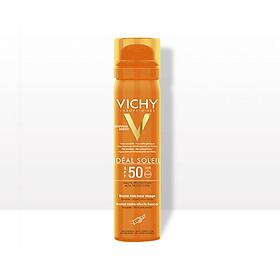Xịt Khoáng Chống Nắng IS SPF 50 Haute Protection Vichy Giảm Dầu - Khô Ráo & Không Gây Nhờn Rít SPF 50+ UVA & UVB ++++ Vichy (75ml) - MB028300