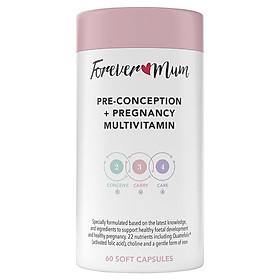 Forever Mum Pre-Conception + Pregnancy Multivitamin 60 Soft Capsules