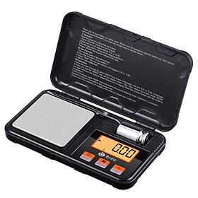 Cân tiểu ly điện tử bỏ túi 200g / 0.01g. Cân tiểu li siêu nhỏ có độ chính xác cao, tặng kèm quả cân 50g