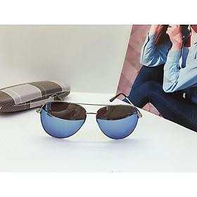 Kính mát nam tráng gương mắt ruồi kiểu dáng hiện đại, UV400, mắt kính phân cực OVD0001