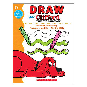 Draw With Clifford The Big Red Dog