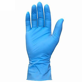 100-pack Disposable Medical Gloves Powder-free Medical Nitrile Gloves Protective Gloves