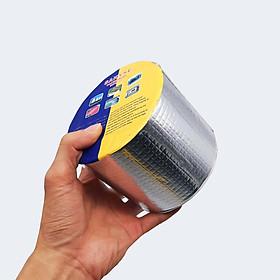 Băng keo chống thấm dột mái tôn đa năng siêu dính khổ 10cm dài 5 mét