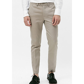 Quần Tây Nam Slim-Fit Suit Trousers The Cosmo - Beige