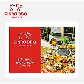 Jinro BBQ - Buffet Bữa Trưa Trong Tuần (1 người)