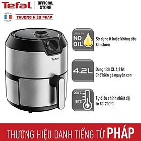 Nồi chiên không dầu Tefal 4.2 Lít - Vỏ thép - EY201D15 - Hàng chính hãng