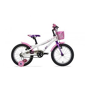 Xe đạp trẻ em Jett Cycles Pixie 161718 (Màu trắng)