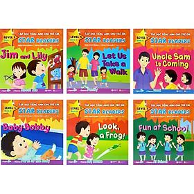 Bộ Sách Tập Đọc Tiếng Anh Cho Trẻ Em - Star Readers (Bộ 6 Cuốn)